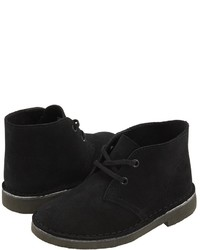 Bottines chukka noires