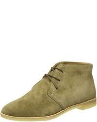 Bottines chukka olive Clarks Originals