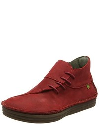 Bottines chukka rouges El Naturalista