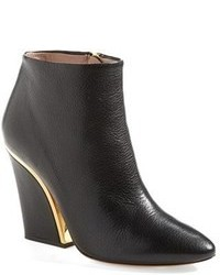 Bottines compensees noires original 9441778