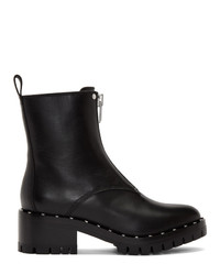 Bottines en cuir à clous noires 3.1 Phillip Lim