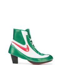 Bottines en cuir multicolores Nike