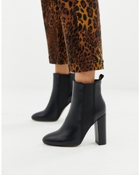 Bottines en cuir noires SIMMI Shoes