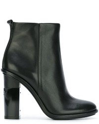 Bottines en cuir noires Tory Burch