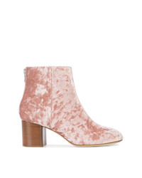 Bottines en cuir roses Rag & Bone