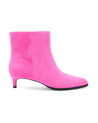 Bottines en daim fuchsia 3.1 Phillip Lim