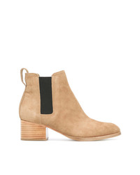 Bottines en daim marron clair Rag & Bone