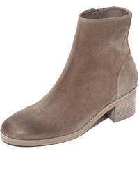 Bottines en daim marron Vince
