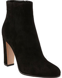 Bottines en daim noires