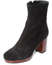 Bottines en daim noires Free People
