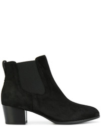 Bottines en daim noires Hogan
