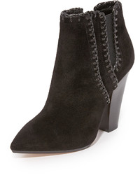 Bottines en daim noires Michael Kors