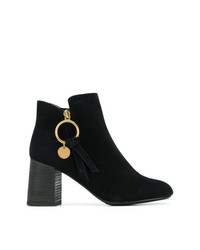 Bottines en daim noires See by Chloe