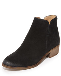 Bottines en daim noires Splendid
