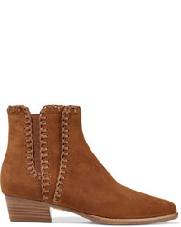Bottines en daim tabac Michael Kors