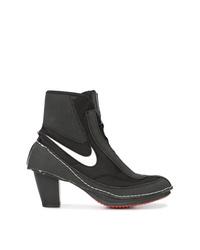 Bottines en toile noires Nike