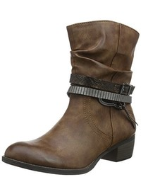 Bottines marron Marco Tozzi