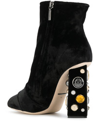 Bottines noires Dolce & Gabbana