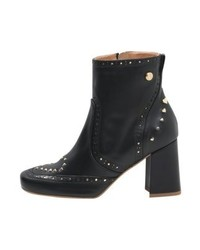 Bottines noires Moschino