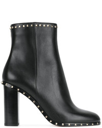 Bottines noires Valentino