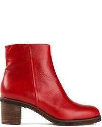Comment Porter Des Bottines Rouges 126 Tenues Mode Femmes