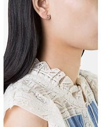 Boucles d'oreilles argentées Alinka