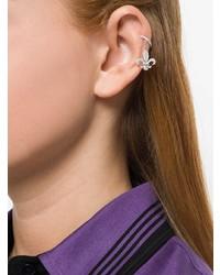 Boucles d'oreilles argentées Elise Dray