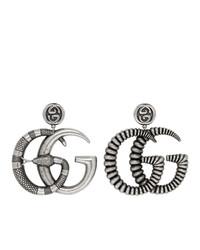 Boucles d'oreilles argentées Gucci
