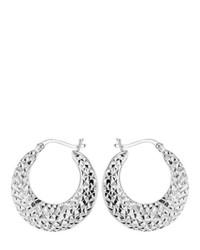 Boucles d'oreilles argentées Tuscany Silver