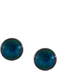 Boucles d'oreilles bleu canard Astley Clarke