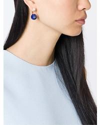 Boucles d'oreilles bleu marine Delfina Delettrez