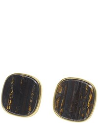 Boucles d'oreilles bleu marine Wouters & Hendrix