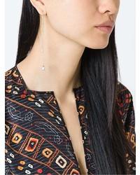 Boucles d'oreilles dorées Delfina Delettrez