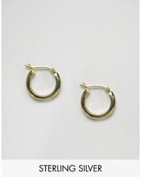 Boucles d'oreilles dorées Asos