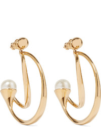 Boucles d'oreilles dorées Chloé
