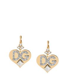 Boucles d'oreilles dorées Dolce & Gabbana