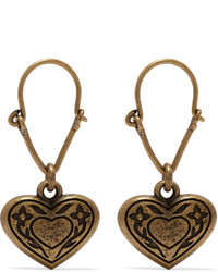 Boucles d'oreilles dorées Etro