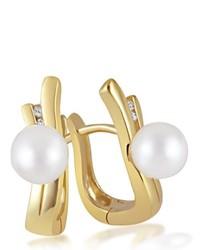 Boucles d'oreilles dorées goldmaid
