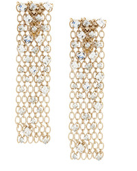 Boucles d'oreilles dorées Lanvin