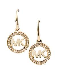Boucles d'oreilles dorées Michael Kors