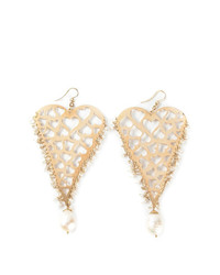 Boucles d'oreilles dorées Natasha Zinko