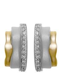 Boucles d'oreilles dorées ORPHELIA