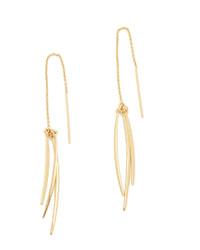 Boucles d'oreilles dorées Rebecca Minkoff