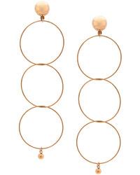 Boucles d'oreilles dorées Stella McCartney