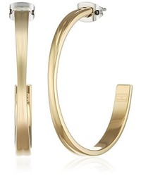 Boucles d'oreilles dorées Tommy Hilfiger