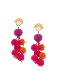 Boucles d'oreilles fuchsia Lizzie Fortunato Jewels