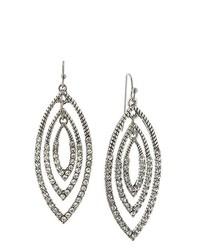 Boucles d'oreilles grises foncées 1928 Jewelry