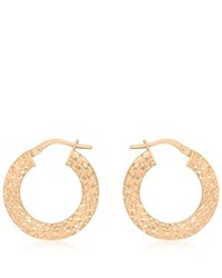 Boucles d'oreilles marron clair Carissima Gold