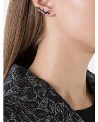 Boucles d'oreilles noires Alinka