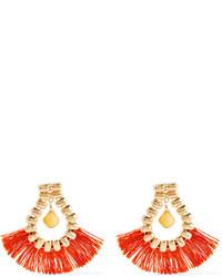Boucles d'oreilles orange Rosantica